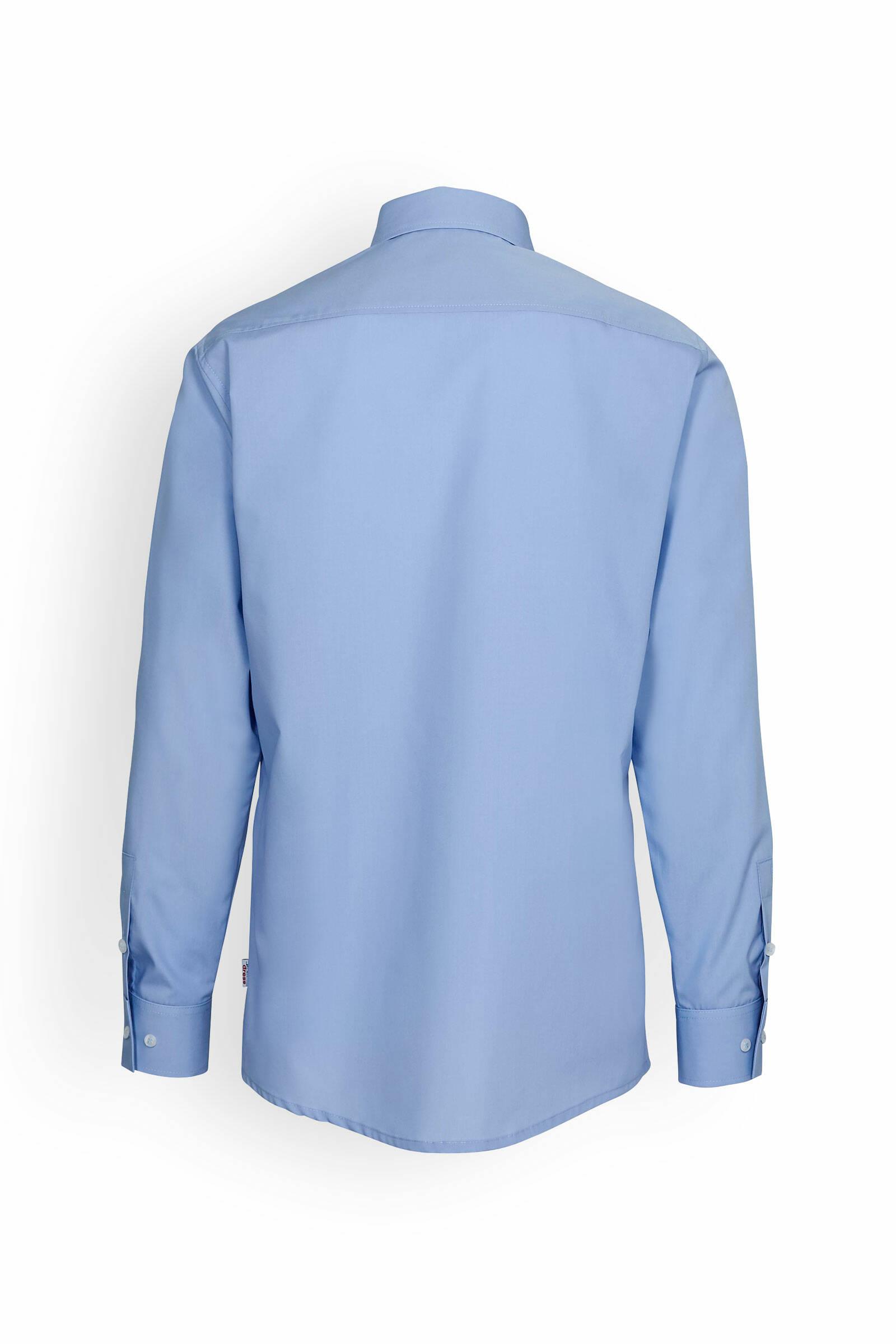 Hemd Hellblau Langarm moderne Passform